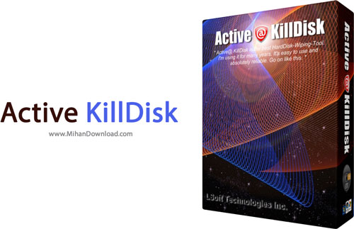 Active KillDisk دانلود پاک سازی همیشگی اطلاعات Active KillDisk 8 0 0 1