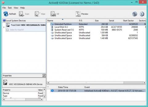 Active8 e1426671047301 دانلود Active KillDisk Professional 9.2.3.0 نرم افزار پاکسازی اطلاعات