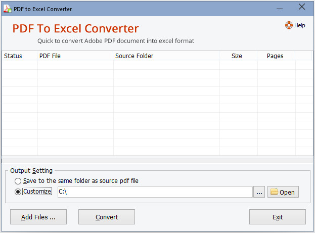 Adept PDF to Excel Converter دانلود نرم افزار تبدیل پی دی اف به اکسل