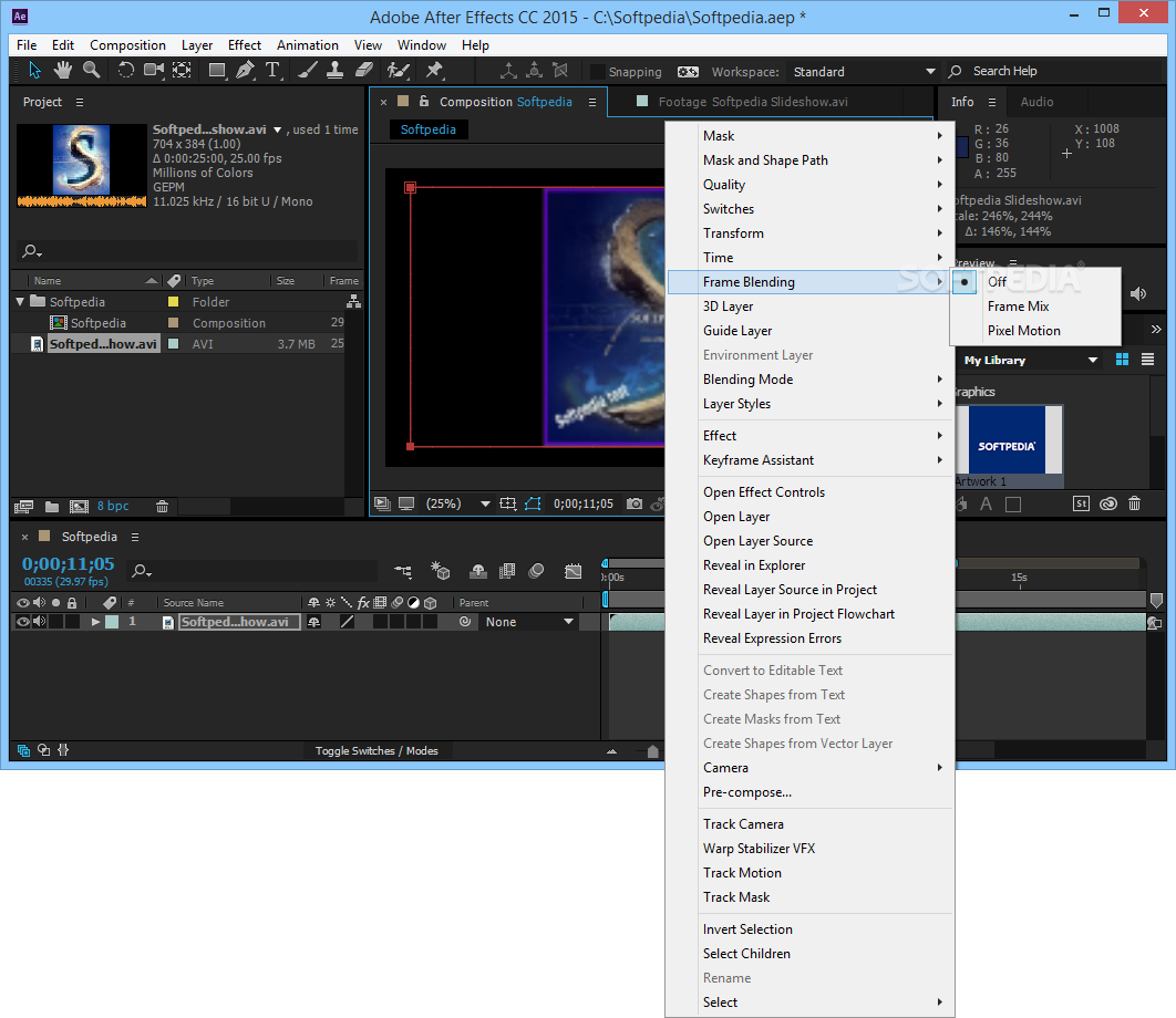 Adobe After Effects 3 دانلود نرم افزار افتر افکت Adobe After Effects CC 2015.3 13.8.1