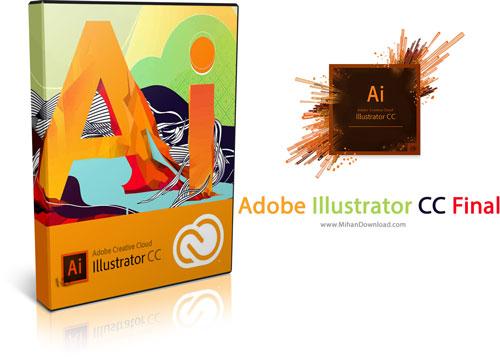 Adobe Illustrator CC دانلود نرم افزار ادوبی ایلاستریتور سی سی Adobe Illustrator CC v17.3