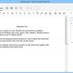 Adobe Reader 3 150x150 دانلود نرم افزار مشاهده فایل های پی دی اف Adobe Acrobat Reader