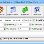 Advanced Date Time Calculator 1 150x150 دانلود Advanced Date Time Calculator محاسبه زمان سپری شده از یک تاریخ