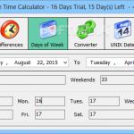 Advanced Date Time Calculator 3 150x150 دانلود Advanced Date Time Calculator محاسبه زمان سپری شده از یک تاریخ