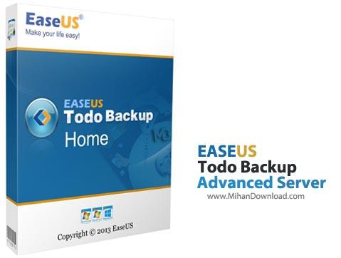 Advanced Server نرم افزار بک آپ گرفتن از سرور EaseUS Todo Backup Advanced Server 6 1
