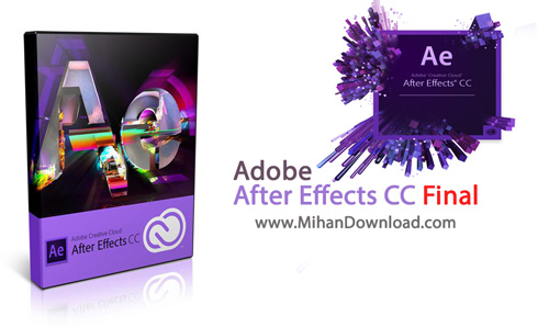 After Effects CC Final دانلود نرم افزار افتر افکت  Adobe After Effects CC 12 2 0 52 Final