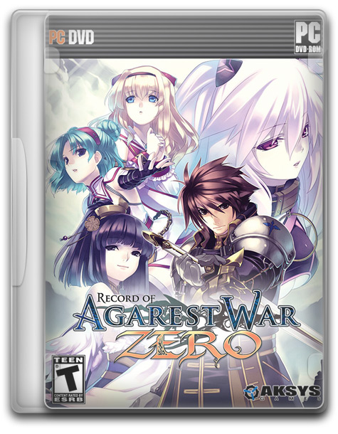 Agarest Generations of War Zero 1 دانلود بازی جنگ های صفر Agarest Generations of War Zero