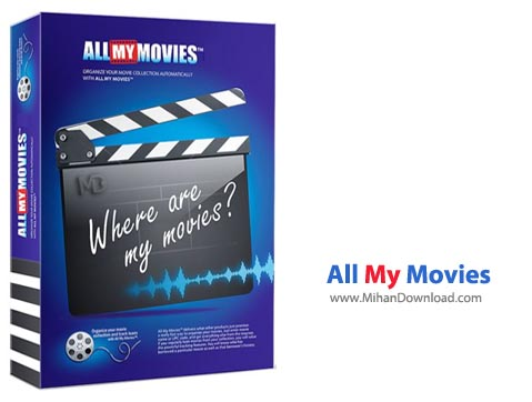 All My نرم افزار مدیریت فیلم ها All My Movies 7 9 build 1420