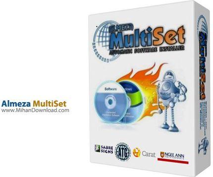 Almeza MultiSet Professional نرم افزار ساخت سی دی نصب خودکار ویندوز Almeza MultiSet Professional 8 7 6