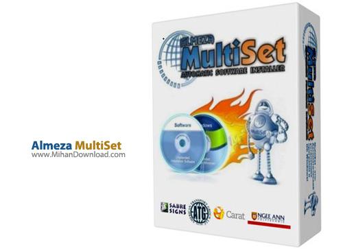 Almeza MultiSet دانلود نرم افزار ساخت سی دی نصب خودکار ویندوز Almeza MultiSet Professional 8 7 5