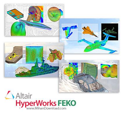 Altair HyperWorks FEKO icon دانلود Altair HyperWorks FEKO نرم افزار آنالیز میدان الکترومغناطیسی ساختمان ها