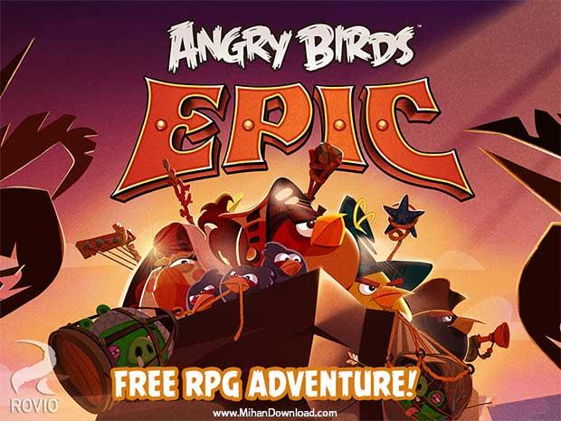 Angry Birds Epic دانلود Angry Birds Epic بازی انگری بردز اپیک برای آندروید