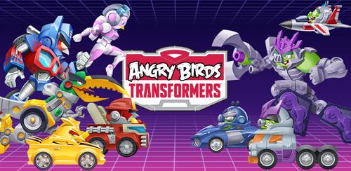 Angry Birds Transformers دانلود بازی پرندگان خشمگین تبدیل شونده Angry Birds Transformers 1.8.10 اندروید