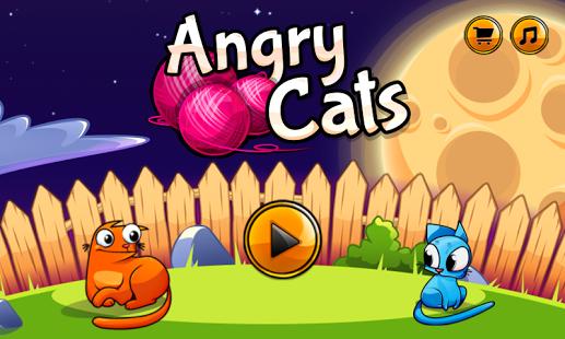 Angry Cats دانلود بازی گربه های خشمگین Angry Cats 1.0.11 برای اندروید