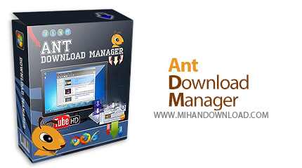 Ant Download Manager icon دانلود نرم افزار مدیریت دانلود Ant Download Manager v1.6.0