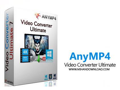 AnyMP4 Video Converter Ulti 1 دانلود نرم افزار تبدیل فرمت ویدئو AnyMP4 Video Converter Ultimate v7.2.32