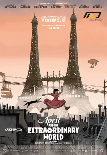 April and the Extraordinary دانلود انیمیشن April and the Extraordinary World 2015