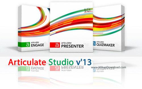 Articulate Studio v13 دانلود نرم افزار ساخت برنامه ی آموزشی Articulate Studio v13 Pro v4 0 1309 2720