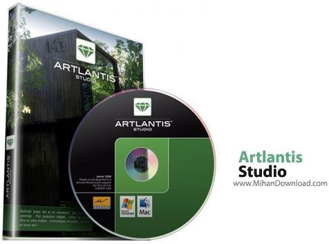 Artlantis نرم افزار طراحی سه بعدی نمای داخل و خارج ساختمان Artlantis Studio 5 1 2 4