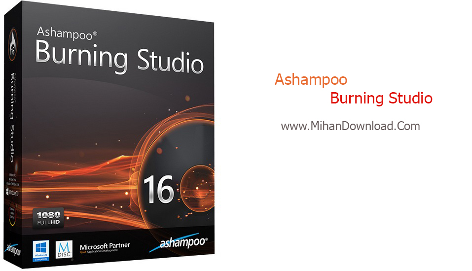 Ashampoo Burning Studio 16.0.7.16 دانلود نرم افزار Ashampoo Burning Studio 16