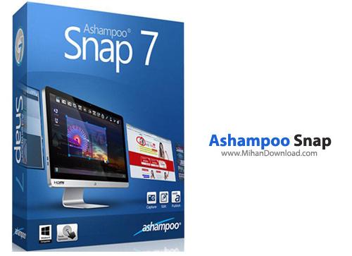 Ashampoo  نرم افزار عكسبرداری از محیط ویندوز Ashampoo Snap 7 0 4