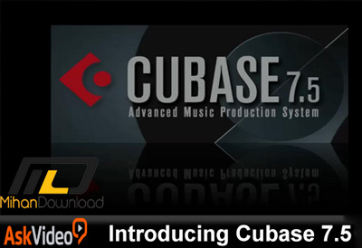 AskVideo.Introducing.Cubase.7.5.TUTORiAL.Cover .www .Download.ir  دانلود فیلم آموزش کیو بیس نرم افزار ساخت موسیقی
