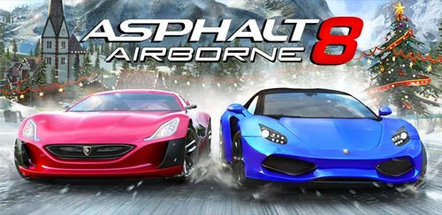 Asphalt 8 دانلود بازی زیبای Asphalt 8: Airborne v1.9.1b اندروید