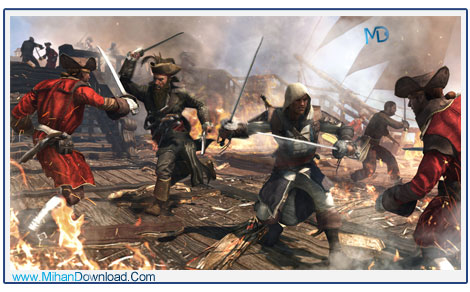 Assassins Creed IV Black Flag 4 دانلود بازی Assassins Creed IV Black Flag پرچم سیاه