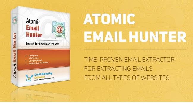 Atomic Email Hunter دانلود نرم افزار استخراج آدرس ایمیل ها از وب سایت ها Atomic Email Hunter