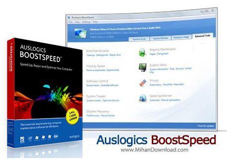 AusLogics دانلود AusLogics BoostSpeed 6 4 0 0 نرم افزار افزایش سرعت سیستم