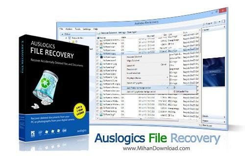 Auslogics File Recovery دانلود Auslogics File Recovery 4 4 0 0 Final نرم افزار بازیابی اطلاعات