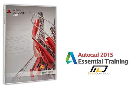 Autocad 2015 Essential Training دانلود فیلم آموزش اتوکد Autocad 2015 Essential Training
