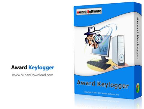 Award Keylogger نرم افزار ثبت تمام فعالیت های کامپیوتر Award Keylogger Pro 3 8
