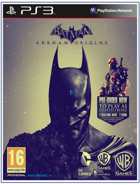 BATMAN ARKHAM ORIGINS SPECIAL EDITION 1 دانلود بازی The Batman Arkham Origins Special Edition شوالیه سیاهی
