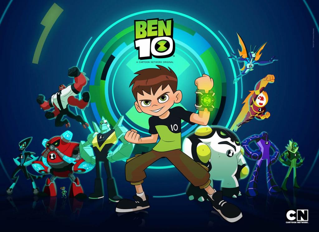 BEN 10 poster 2017 1 1024x744 دانلود انیمیشن BEN10 ReBoot 2017 بین تن ریبوت