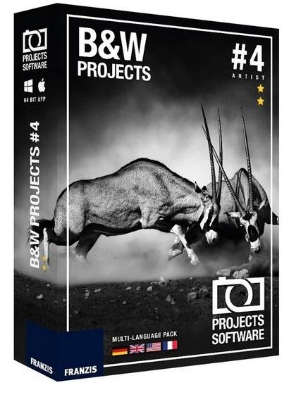 BLACK WHITE Projects دانلود نرم افزار ساخت تصاویر سیاه و سفید BLACK & WHITE Projects