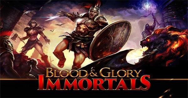 """BLOOD And دانلود بازی گلادیاتوری با معنی """"خون و افتخار: جودانگی"""" BLOOD & GLORY: IMMORTALS 1.1.1 اندروید"""