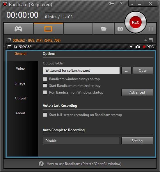 Bandicam دانلود نرم افزار فیلمبرداری از صفحه Bandicam 3.0.4.1036