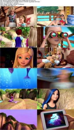 Barbie Dolphin Magic 2 دانلود انیمیشن Barbie: Dolphin Magic 2017