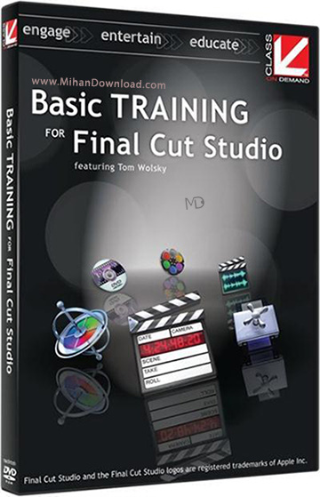 Basic Training for Final Cut Studio 3 Educational Training Tutorial دانلود آموزش کامل Cut Studio 3