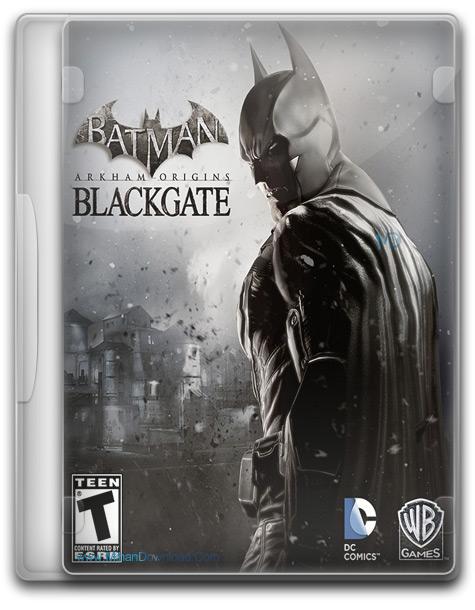 Batman Arkham Origins Blackgate 1 دانلود بازی بتمن آرخام ریش های سیاه Batman Arkham Origins Blackgate