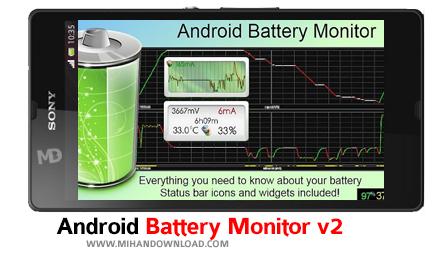 Battery Monitor دانلود نرم افزار Battery Monitor برای آندروید