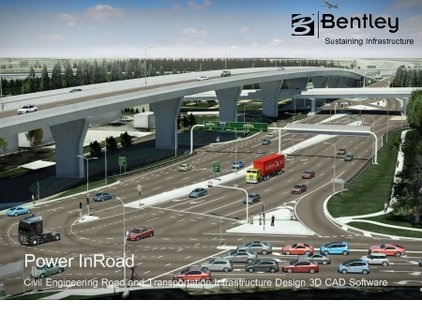 Bentley Power InRoads دانلود نرم افزار طراحی و آنالیز اتوبان ها Bentley Power InRoads