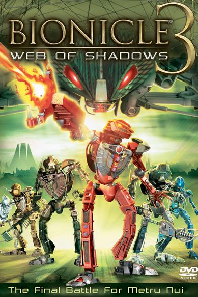 Bionicle 3 Web of Shadows 2005 1 دانلود دوبله فارسی انیمیشن Bionicle 3: Web of Shadows