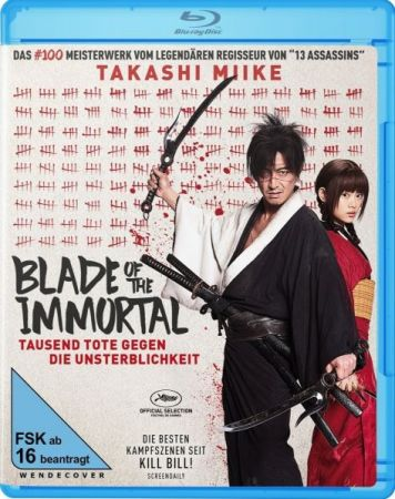 Blade of the Immortal 1 دانلود دوبله فارسی فیلم Blade of the Immortal 2017