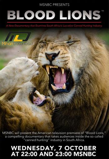 Blood Lions 2015 دانلود مستند Blood Lions 2015