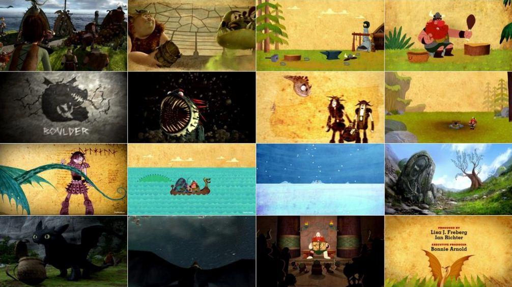 Book of Dragons 2 دانلود دوبله فارسی انیمیشن کتاب اژدها