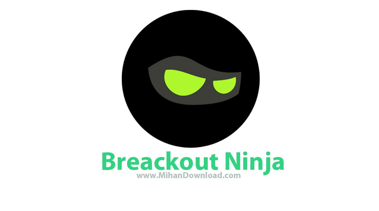 Breakout Ninja icon دانلود بازی سرگرم کننده برک آوت نینجا برای آندروید