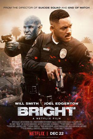 Bright 1 دانلود فیلم Bright 2017 با دوبله فارسی