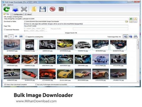 Bulk Image Downloader نرم افزار دریافت عکس از اینترنت Bulk Image Downloader 4 68 0 0